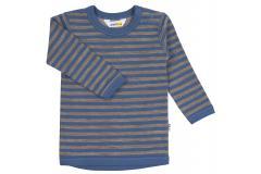 JOHA shirt merino wool/cotton Sesame Blue, 90, 120