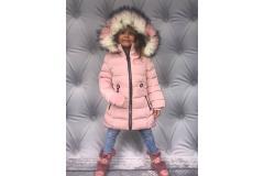 Winter Pink Love Coat, 98-152