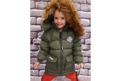 Winter jacket khaki, 98-152