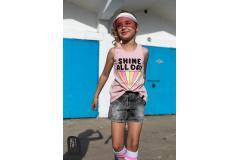 AFK Pink Shirt Shine, 4-13y