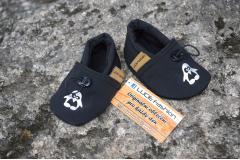 Softshell boots black Pinquine, 13cm