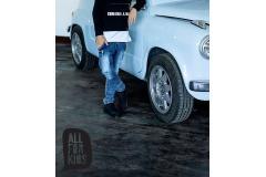 AFK blue jeans, 104-146