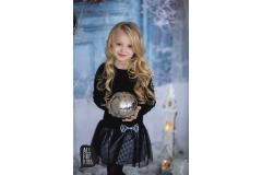 All For Kids Black Dress with tulle, 116-134