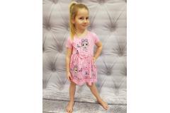 LOL dress pink, 116-134