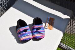 Softshell boots rainbow black, 12cm