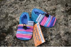 Softshell boots rainbow blue, 10cm