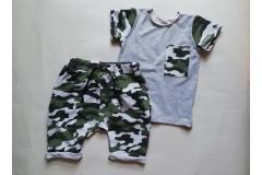 Set shorts+shirt Army