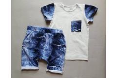 Set shorts+shirt Jeans