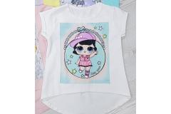 Ecru shirt LOL, 104-158