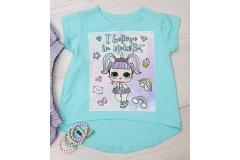 Mint shirt LOL, 104-158