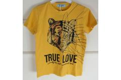 Mustard Tshirt True Love, 4-14y