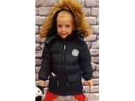 Zimní bunda pro kluky navy, 122-152