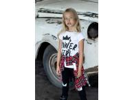 AFK Triko bílé Power Girl, 104-134