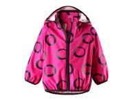 Dětská bunda do deště Reima Kupla - pink, 80