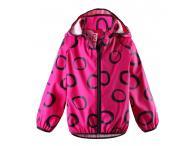 Dětská bunda do deště Reima Kupla - pink, 104-128