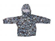 Dětská bunda do deště Reima Bubble brown, 110