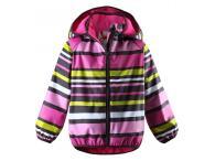 Dětská bunda do deště Reima Koski - pink, 116