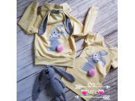 Souprava Bunny žlutá