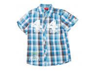 Chlapecká košile Reima Hill, kr.rukáv-mid blue, 92, 116