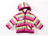 FIXONI bundička jární/podzimní dívčí s kapucí, 56-74