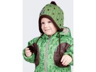 HUPPA zimní čepice Jakob frog, 2-6 let