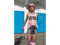 AFK Tílko Shine růžové, 4-13 let
