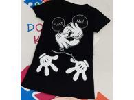 Šaty Mickey černé