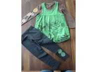 GINKANA souprava Cereza in green, 5 let