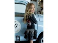 AFK Šaty Jeans černé, 104-158