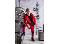 AFK Kalhoty červené leather, 92-122
