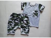 Souprava kraťasy+triko Army