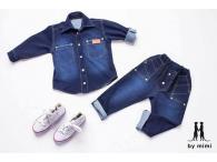 Jeans kalhoty, 86-140