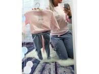 Triko kočka růžové