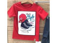 Triko Skate Style červené, 86-140