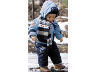 Zimní set modrá bunda s oteplováky CARS, 74