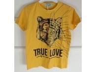 Triko True Love hořčicové, 4-14 let