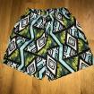 Beach shorts for boys Mint, 86-140