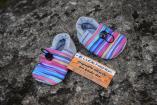 Softshell boots rainbow grey, 12cm
