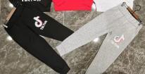 Tik Tok Black Pants, 7/8y